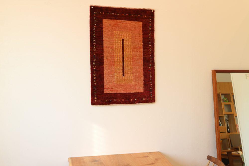玄関・お座布団サイズ 赤ベース