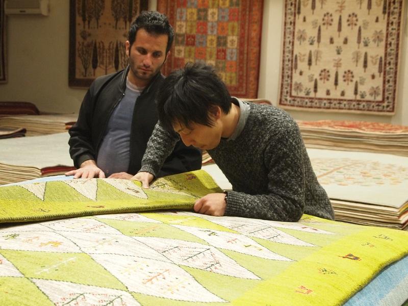 ギャッベ ペルシャ絨毯 マツコの知らない世界 アートギャッベの選定