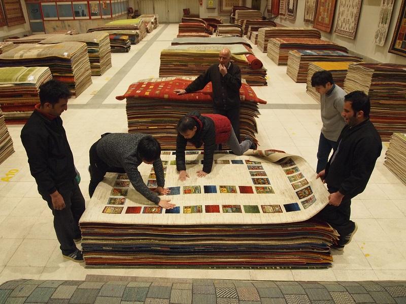 ギャッベ ペルシャ絨毯 マツコの知らない世界 ゾランヴァリでのギャッベの選定