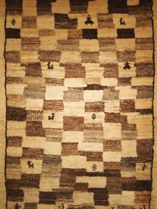 ギャッベ ペルシャ絨毯 マツコの知らない世界 手織り