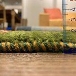 織タイプ サフの厚み