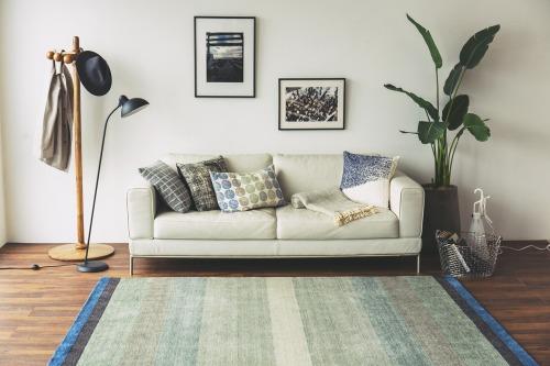ハグみじゅうたんのモダンな空間のイメージ写真
