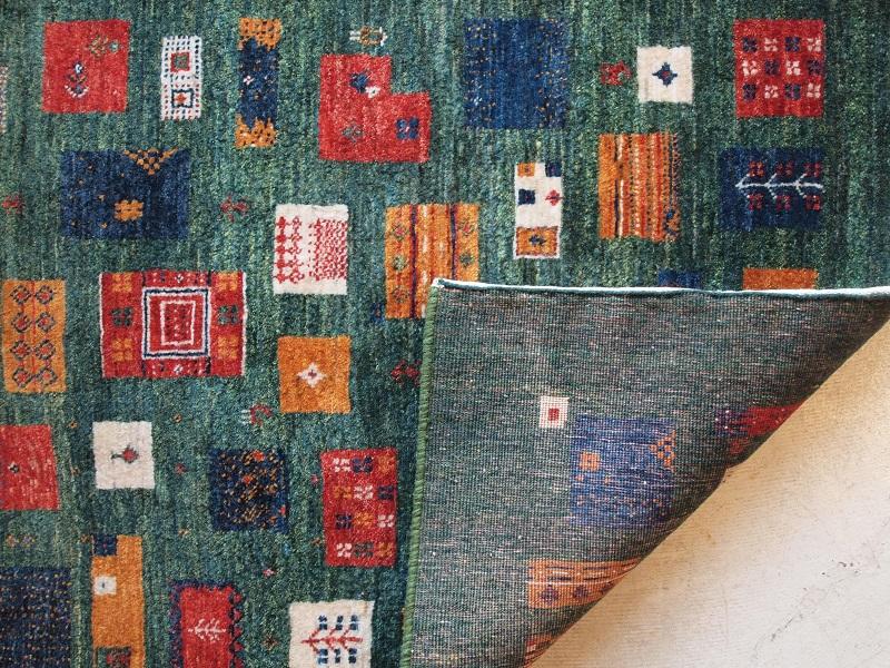 ギャッベ ペルシャ絨毯 マツコの知らない世界 織の細かさ