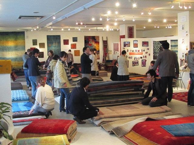 ギャッベ ペルシャ絨毯 マツコの知らない世界 全国のアートギャッベ展